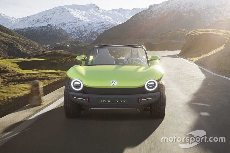 Volkswagen представив 201-сильний концепт I.D. Buggy