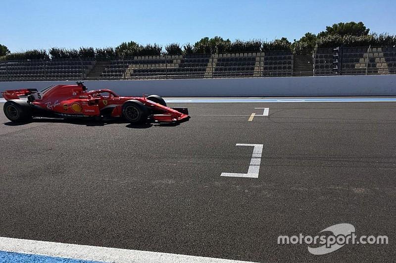 Vettel y Bottas completaron las pruebas de Pirelli en Paul Ricard