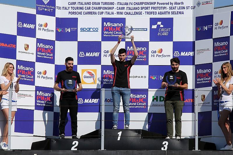 Carrera Cup Italia, Misano: prosegue la striscia vincente di Bonito nel monomarca eSport