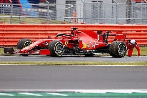 F1: Ferrari diz que pode mudar chassi de Vettel nas próximas corridas