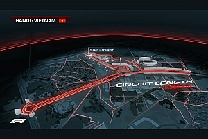 Así será la pista para la F1 en Vietnam