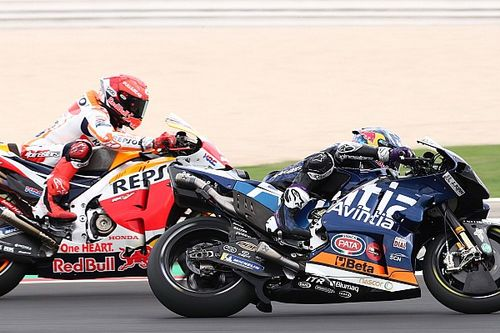 """Marquez """"over my limit"""" chasing Bastianini in Misano MotoGP race"""