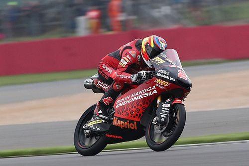 Moto3, Aragon, Libere 1: zampata di Rodrigo, terzo Antonelli