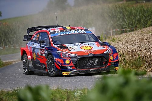 Belgium WRC: Neuville in control while Toyotas fight for third