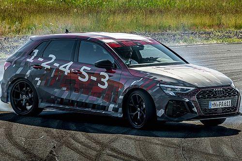 Nuova Audi RS 3, 400 CV e drift perfetti col 100% di coppia dietro