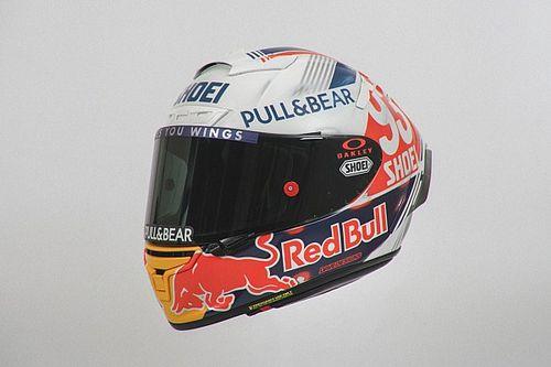Un casque au design rétro pour Marc Márquez au Sachsenring
