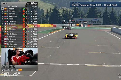 España estrena campeón de Europa de FIA Gran Turismo
