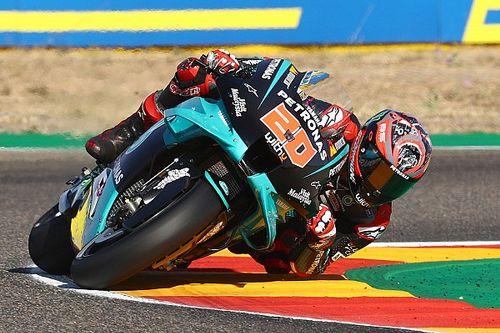 Michelin explica qué arruinó la carrera de Quartararo en Aragón