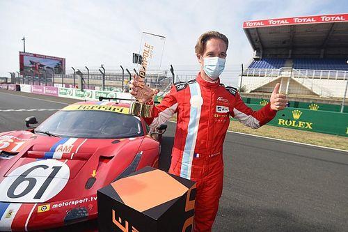 Le Mans, che Hyperpole per Ledogar con la Ferrari!
