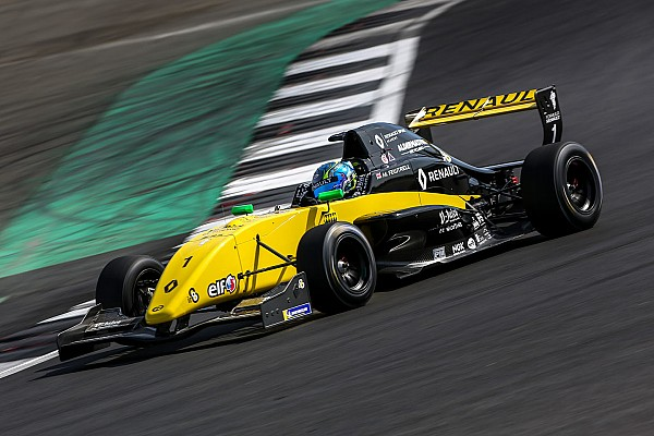 Formula Renault Gara Max Fewtrell e Charles Milesi si dividono i successi a Silverstone