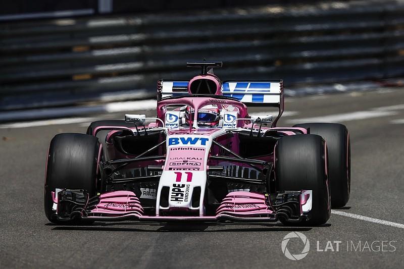 Force India planeja introduzir nova asa dianteira