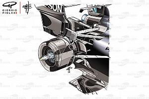 Формула 1 Аналитика Технический анализ: как уникальная задняя подвеска помогает Mercedes
