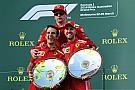 """Presidente da Ferrari celebra: """"não podia ser melhor"""""""
