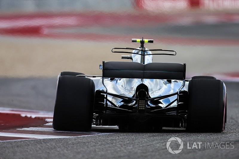 GALERÍA TÉCNICA: la actualización del Mercedes W08 durante 2017