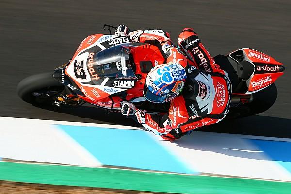 WSBK Jerez: Melandri auf Pole, Yamaha in Reihe eins