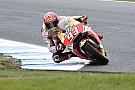 MotoGP Márquez reconfirma su dominio en el warm up de Phillip Island