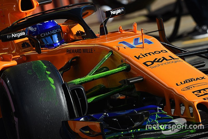 Alonso's input on 2019 McLaren F1 car