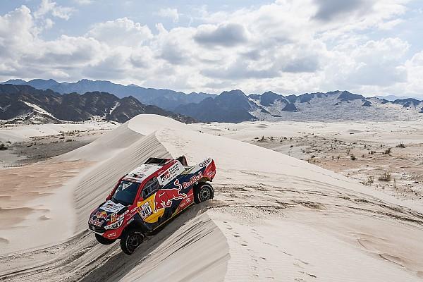 Dakar Resumen de la etapa Peterhansel falla y Sainz está cerca de su segunda victoria en el Dakar