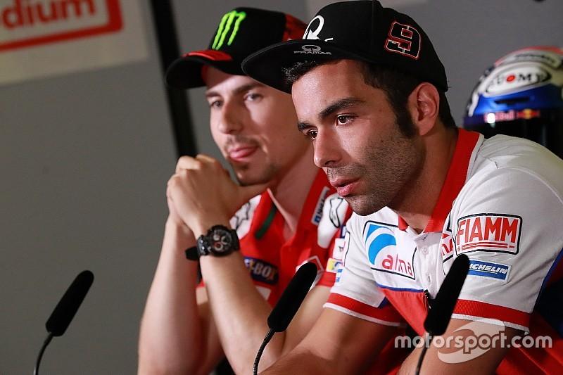 Petrucci, Lorenzo'nun Ducati'ye geçiş konusundaki yorumlarından rahatsız