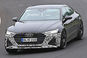 Automotive Breaking news New Audi RS7 Sportback spied looking fierce at the Nurburgring
