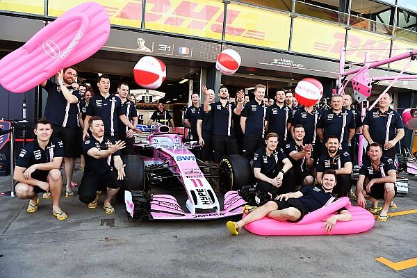 Force India: per il 2018 è saltato il cambio di nome del team