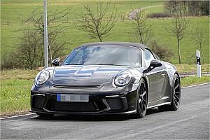 Automotive News Erwischt: Neuer 911 Speedster