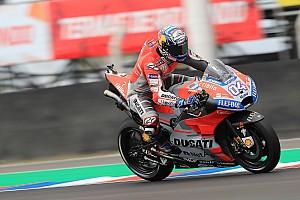 MotoGP Reaktion Dovizioso gibt zu: