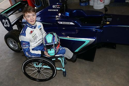 Billy Monger tes single-seater perdana sejak amputasi kaki