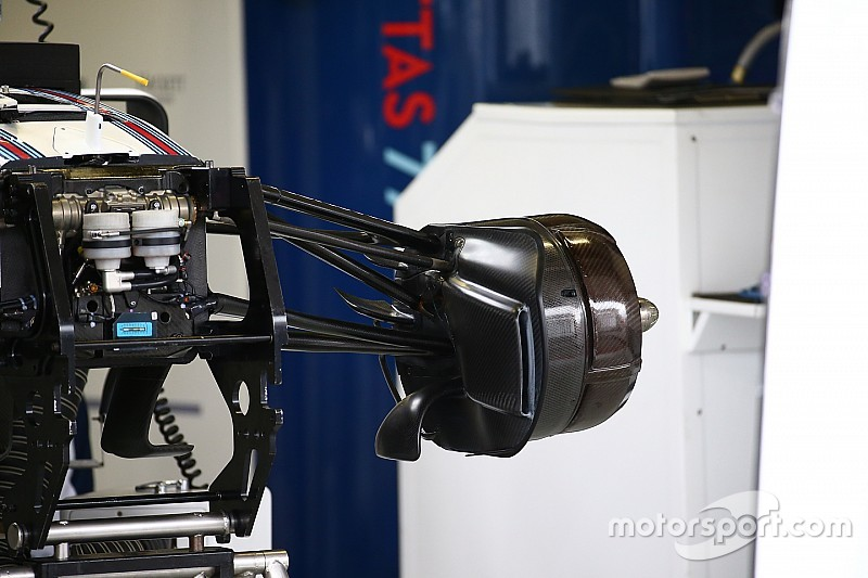 Bite-size tech: Williams FW38 front brake ducts