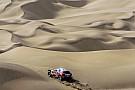 丝绸之路拉力赛首迎沙漠赛段考验  标致包揽前三