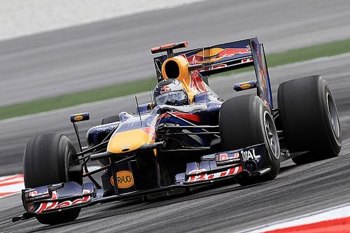 Webber-owned Red Bull F1 car is a Vettel race winner