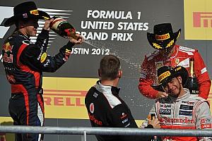C'était un 18 novembre: le premier podium Hamilton-Vettel-Alonso