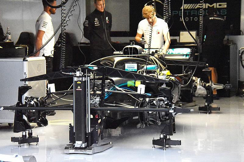 Mercedes met grootste F1-update naar GP van Oostenrijk