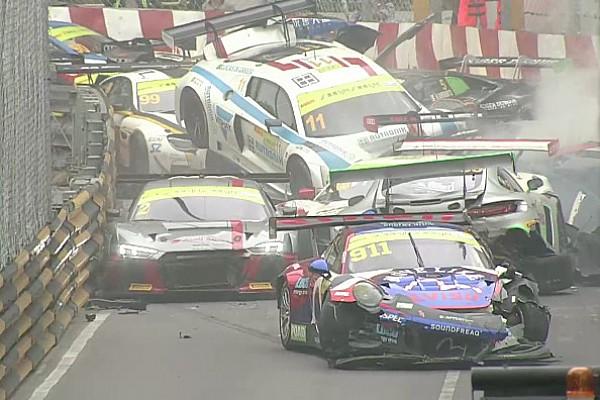 GT Interview Di Grassi: Macau GT pile-up crash the craziest I can recall