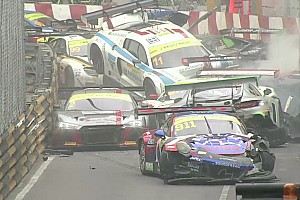 GT Interview Di Grassi: Macau GT pile-up crash the craziest I can recall