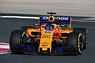McLaren's Renault-engined 2018 F1 car makes track debut