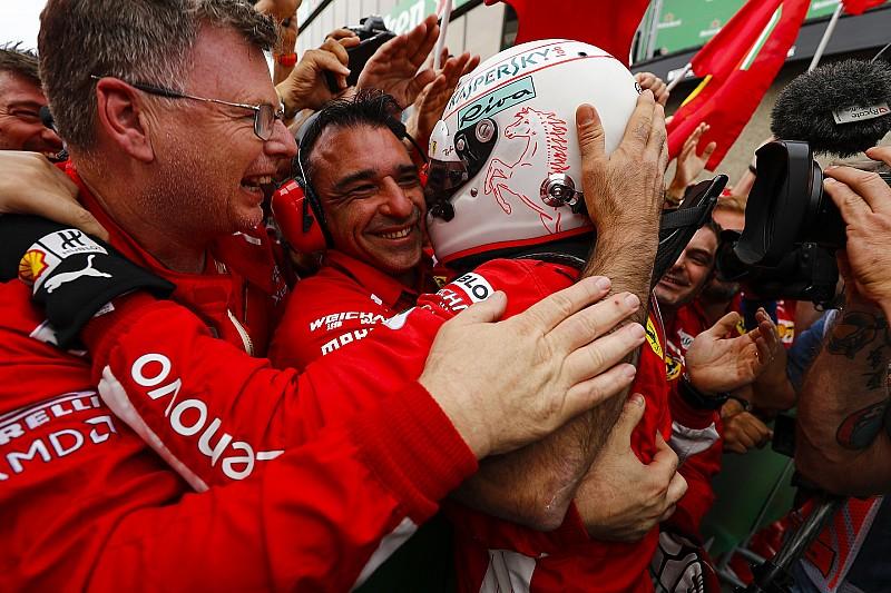 Fotogallery: Vettel tinge Montreal di rosso Ferrari con la sua 50esima vittoria