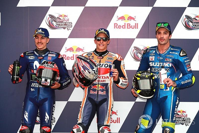 Starting grid MotoGP Amerika 2018