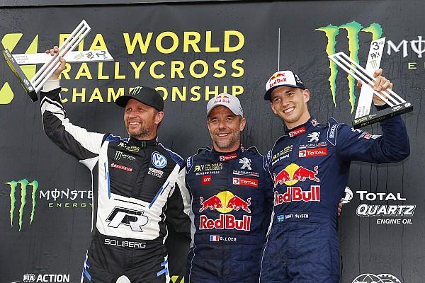 World Rallycross Race report Belgium World RX: Loeb romps to first win since 2016