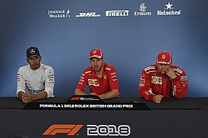 Formula 1 Press conference British GP: Post-race press conference