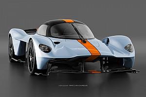 Fórmula 1 Galería GALERÍA: el Aston Martin Valkyrie en numerosos esquemas de color