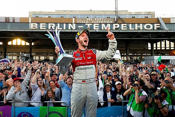 Formel E Mit Bier & Döner: So feiert Daniel Abt den Heimsieg von Berlin