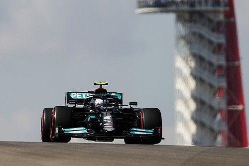 F1: Bottas comanda dobradinha da Mercedes no primeiro treino livre nos EUA; Verstappen é 3º