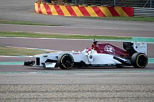 Calderón cerró su segundo día con Sauber en Fiorano mejorando su tiempo