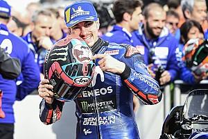 Viñales op pole voor Grand Prix van Valencia, Marquez vijfde na crash