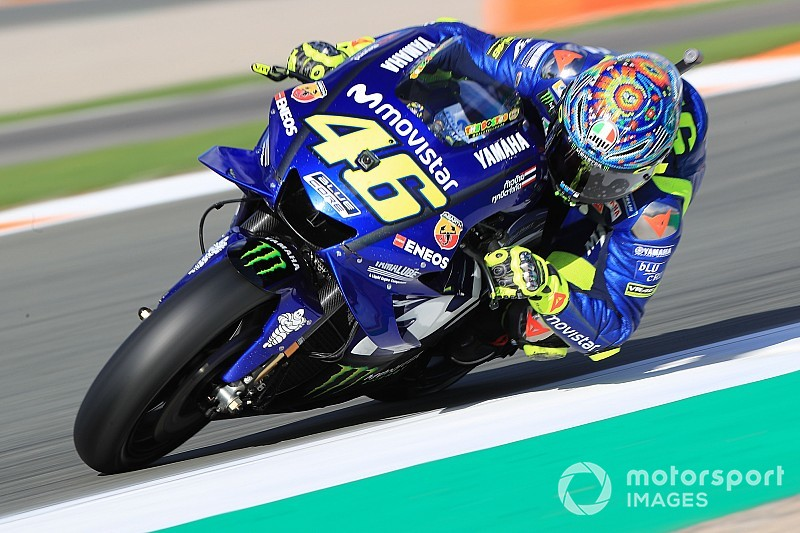 """Rossi: """"Hasta Bautista, que viene de Superbikes, va más rápido que nosotros"""""""