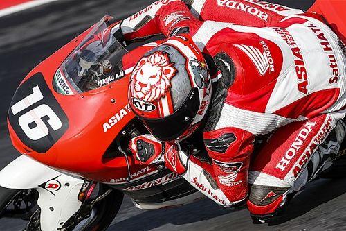 Dapat Wildcard, Mario Suryo Aji Siap Debut Moto3 2021
