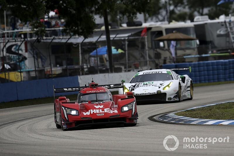 Sebring 12 Hours, Hour 6: AXR Cadillac leads, Mazda shunts