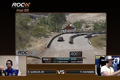 Individuele Virtual Race of Champions prooi voor Hansen