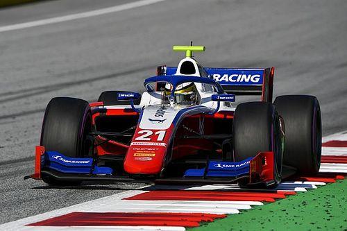 Prodígio russo da Ferrari vence na F2; brasileiros têm dia para esquecer